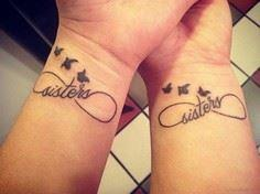 Nice Sisters Tattoo On Wrist - 75 Friendship Tattoos - Find Friend Tattoos (Designs and Ideas)