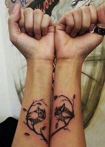 40  Creative Best Friend Tattoos,  - 75 Friendship Tattoos - Find Friend Tattoos (Designs and Ideas)