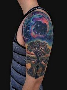 Galaxy Tattoos