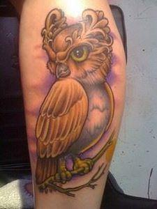 Owl Tattoo by Sam Iamm Dunn, North - 50 Owl Tattoos You Have to See