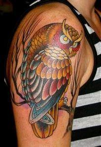 not anything i'm going for..but i  - 50 Owl Tattoos You Have to See