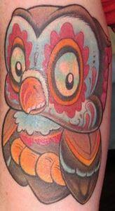 Tattoo by  Jime Litwalk - 50 Owl Tattoos You Have to See