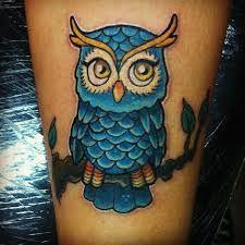 owl tumblr  - 50 Owl Tattoos You Have to See