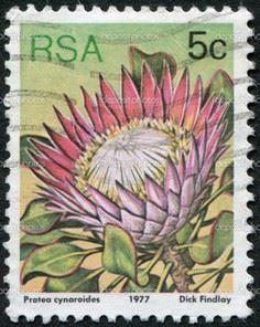 SOUTH AFRICA - CIRCA 1977: A stamp - 40 Postage Stamp Tattoos