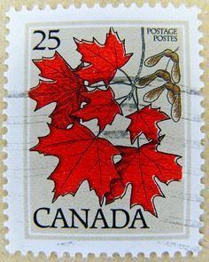great stamp Canada 25c (maple leaf - 40 Postage Stamp Tattoos
