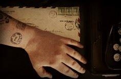 I like the idea of a stamp tattoo, - 40 Postage Stamp Tattoos
