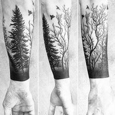 Forests; whether with live abundan - 175 Popular Tree Tattoo