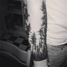 "Robert Frost once wrote of ""the wo - 175 Popular Tree Tattoo"